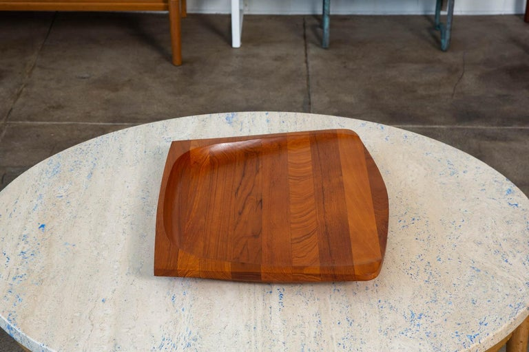 Mid-20th Century Jens Quistgaard Teak Serving Tray For Sale