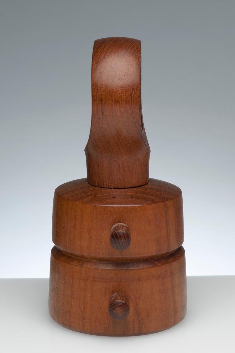 Jens Quistgaard Vintage Dansk Pepper Mill and Salt Shaker For Sale 2