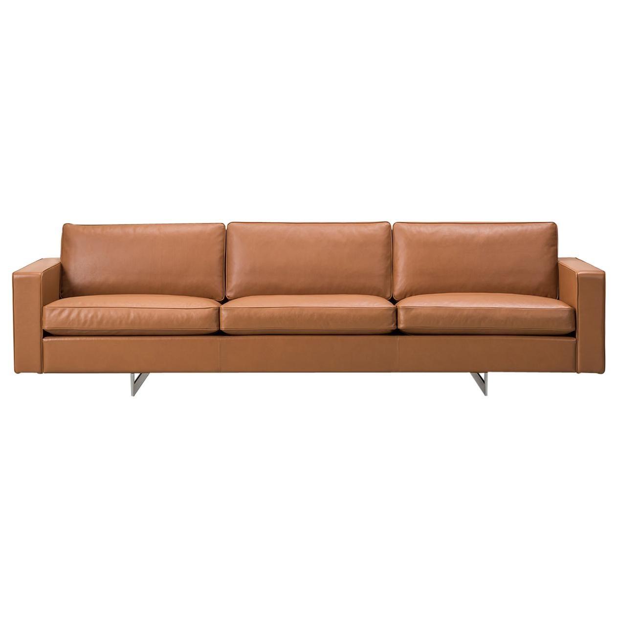 Jens Risom 65 Sofa – 3 Seater – Metal Base