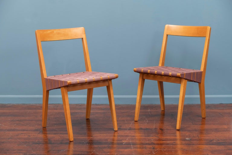 Mid-Century Modern Jens Risom Chairs for Knoll Associates, N.Y. For Sale
