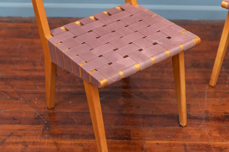 American Jens Risom Chairs for Knoll Associates, N.Y. For Sale