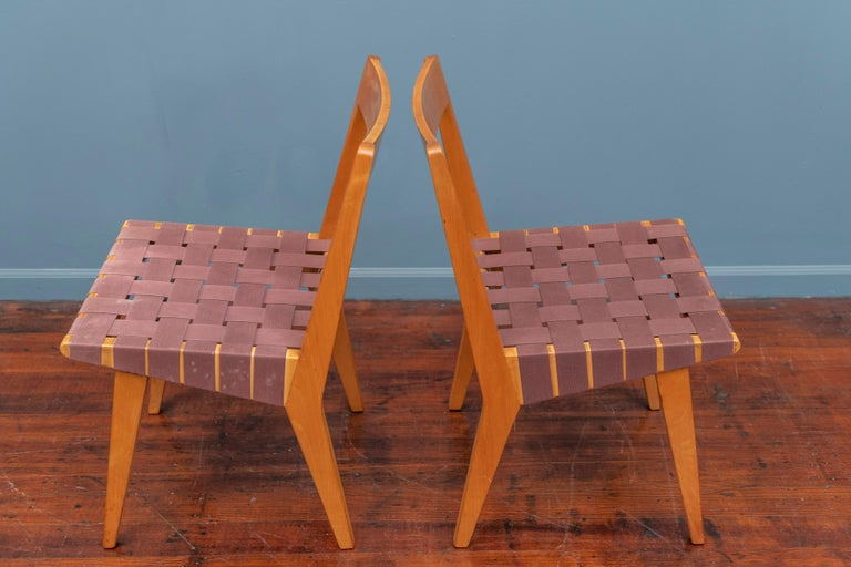 Jens Risom Chairs for Knoll Associates, N.Y. For Sale 1