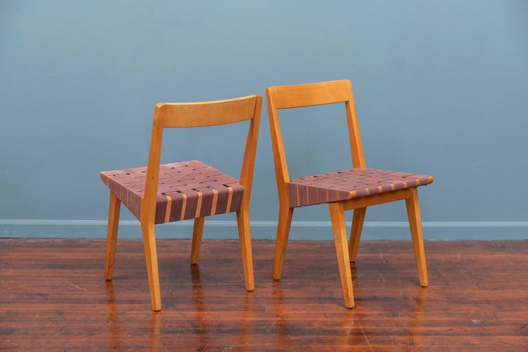 Jens Risom Chairs for Knoll Associates, N.Y. For Sale 2