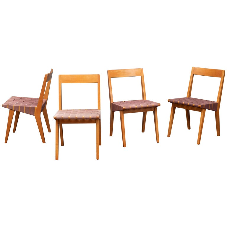Jens Risom Chairs for Knoll Associates, N.Y. For Sale