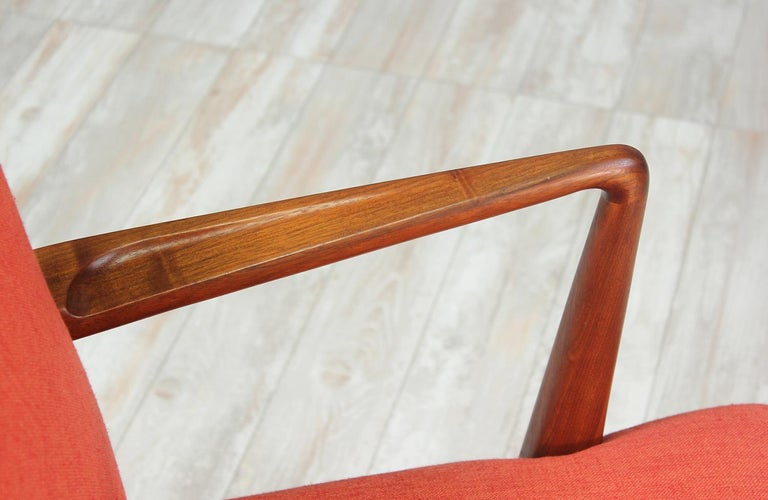 Jens Risom Easy Chairs for Knoll For Sale 1