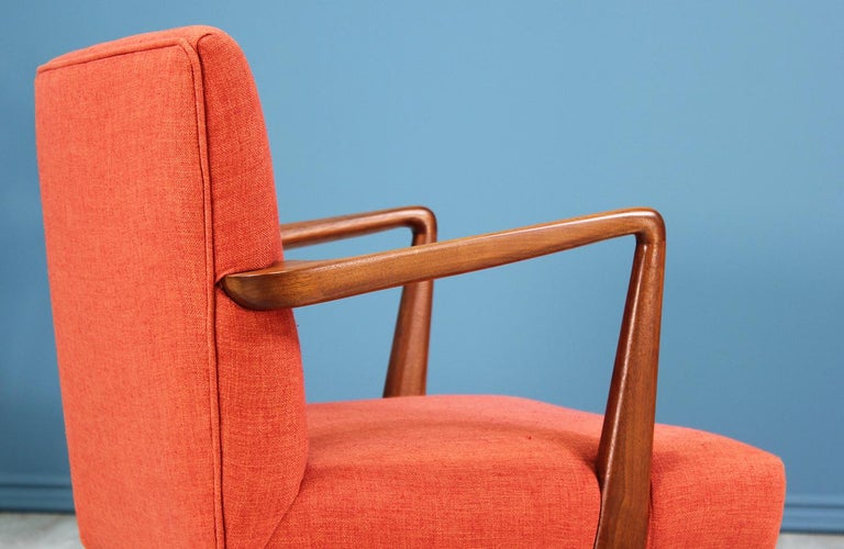 Jens Risom Easy Chairs for Knoll For Sale 2