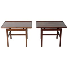 Jens Risom End Tables or Night Stands