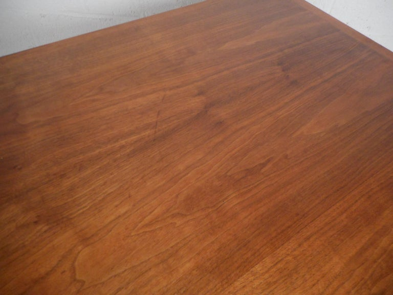 Jens Risom Executive Desk with a Finished Back For Sale 6
