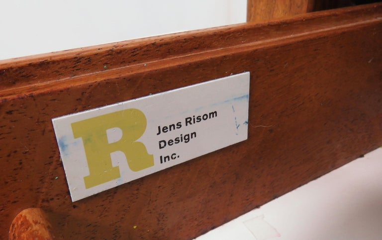 Jens Risom Executive Work Station Desk With Optional