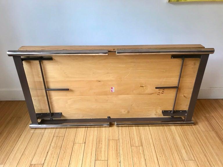 Mid-Century Modern Jens Risom Folding Table, Desk or for Dining For Sale