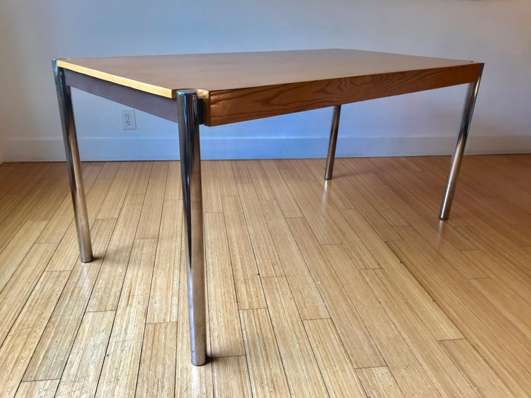 American Jens Risom Folding Table, Desk or for Dining For Sale