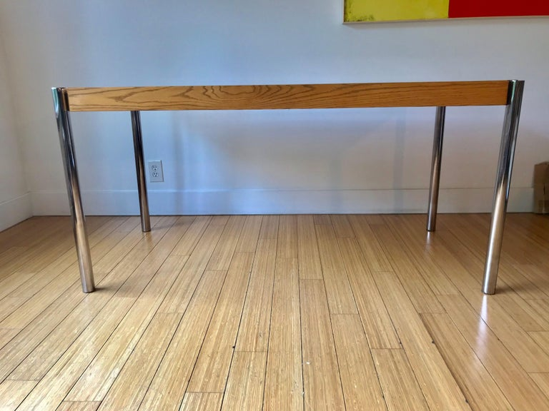 20th Century Jens Risom Folding Table, Desk or for Dining For Sale