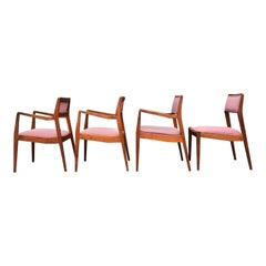 Jens Risom for Jens Risom Designs Midcentury Playboy Chairs