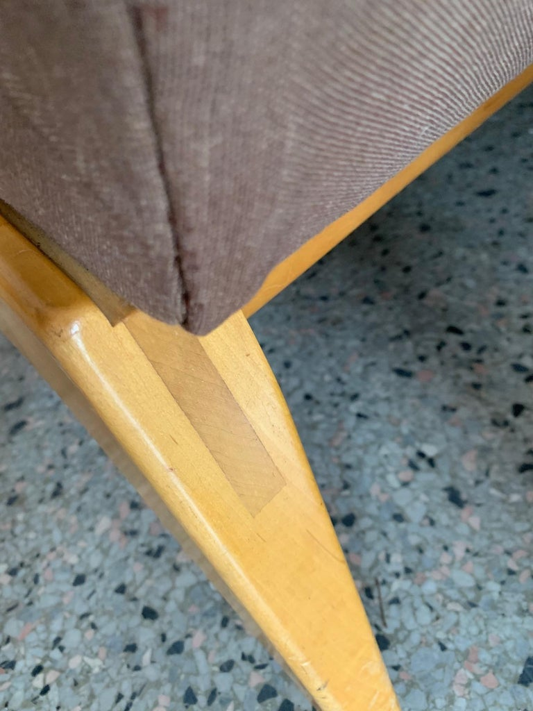 Jens Risom for Knoll Early Slipper Chairs For Sale 4