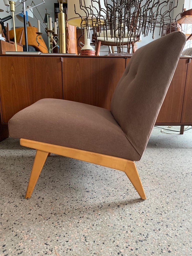 American Jens Risom for Knoll Early Slipper Chairs For Sale