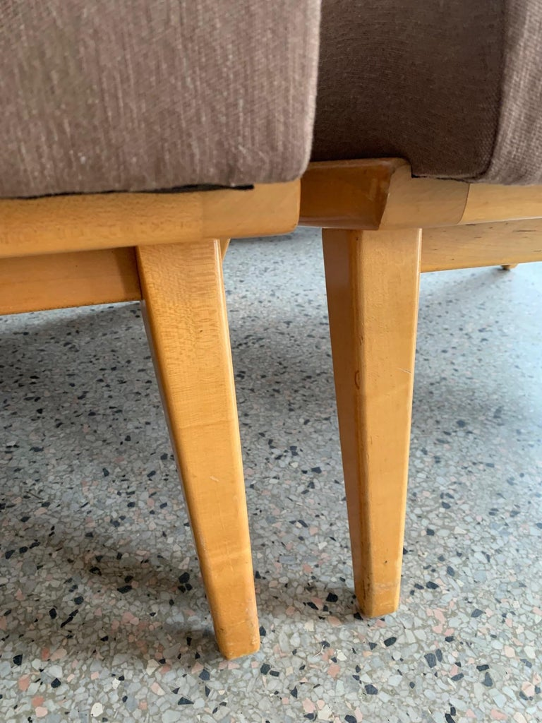 Jens Risom for Knoll Early Slipper Chairs For Sale 1