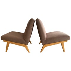Jens Risom for Knoll Early Slipper Chairs
