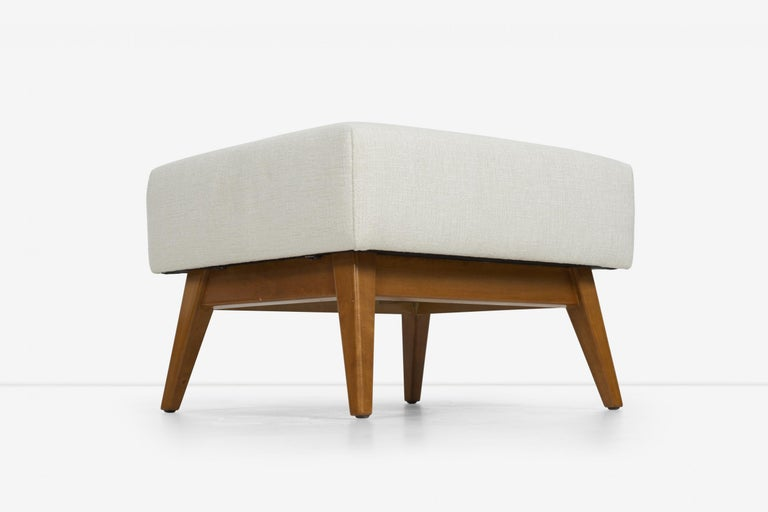 Jens Risom Lounge and Ottoman For Sale 6