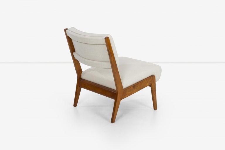 Appliqué Jens Risom Lounge and Ottoman For Sale