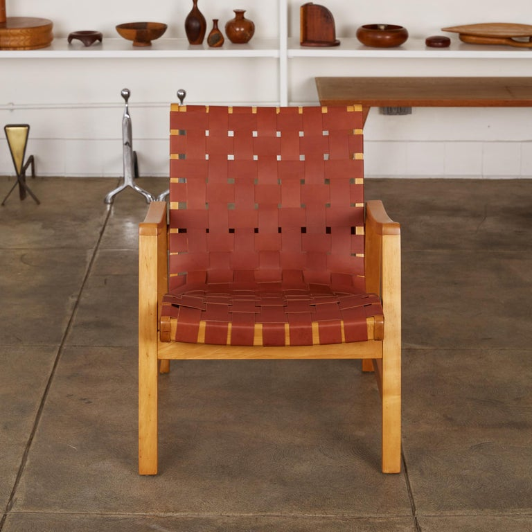Mid-Century Modern Jens Risom Lounge Chair For Sale