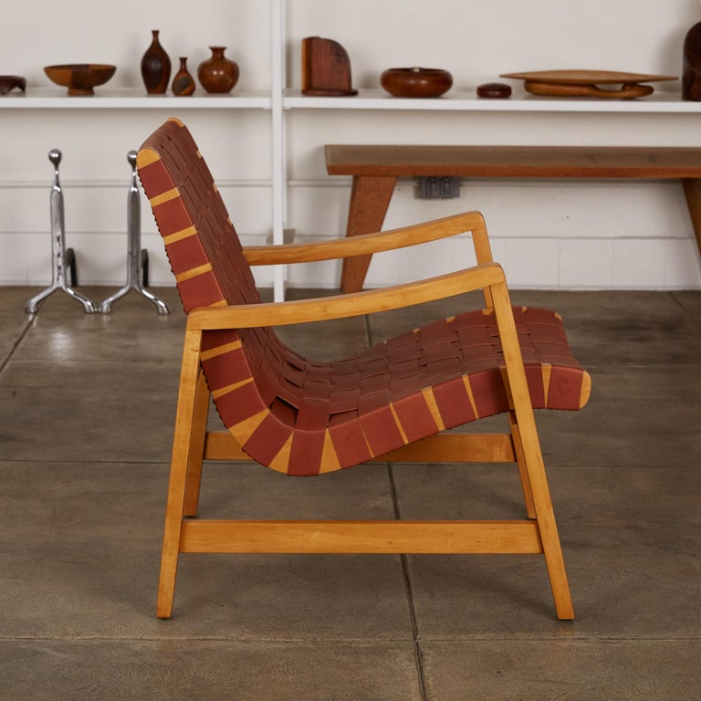 Mid-20th Century Jens Risom Lounge Chair For Sale