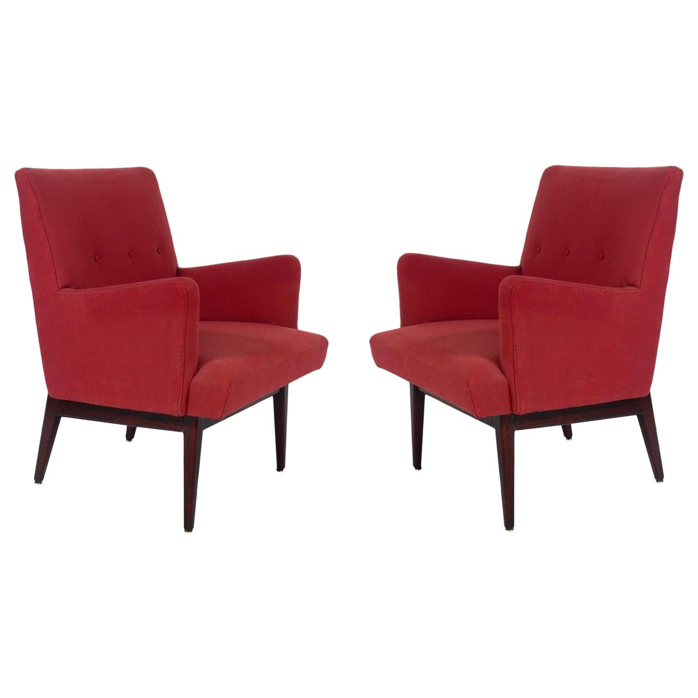 Jens Risom Lounge Chairs