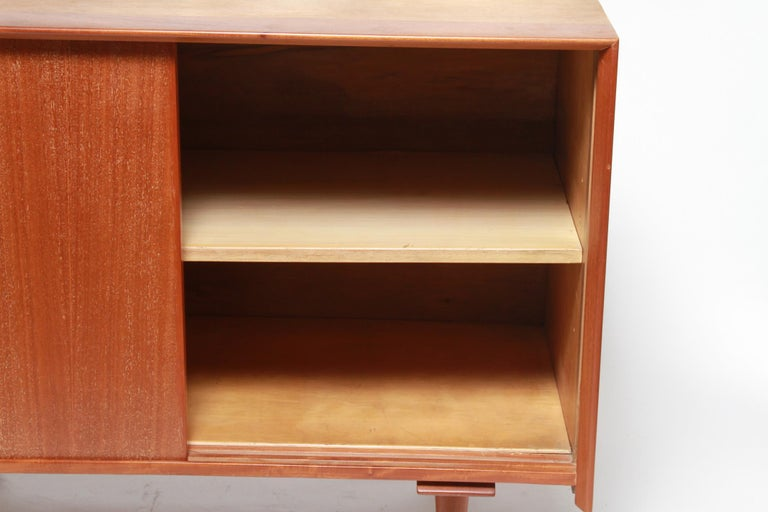 American Jens Risom Mid-Century Modern Credenza or Cabinet For Sale