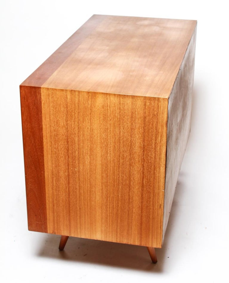 Wood Jens Risom Mid-Century Modern Credenza or Cabinet For Sale