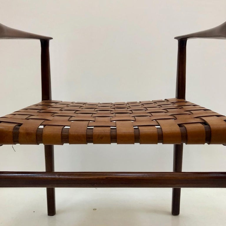 Jens Risom Mid-Century Modern Set of Eight Chairs, USA 1950s For Sale 8