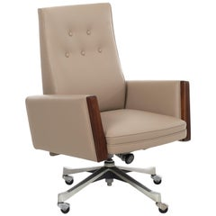"Jens Risom ""Posture"" High-Back Executive Chair"