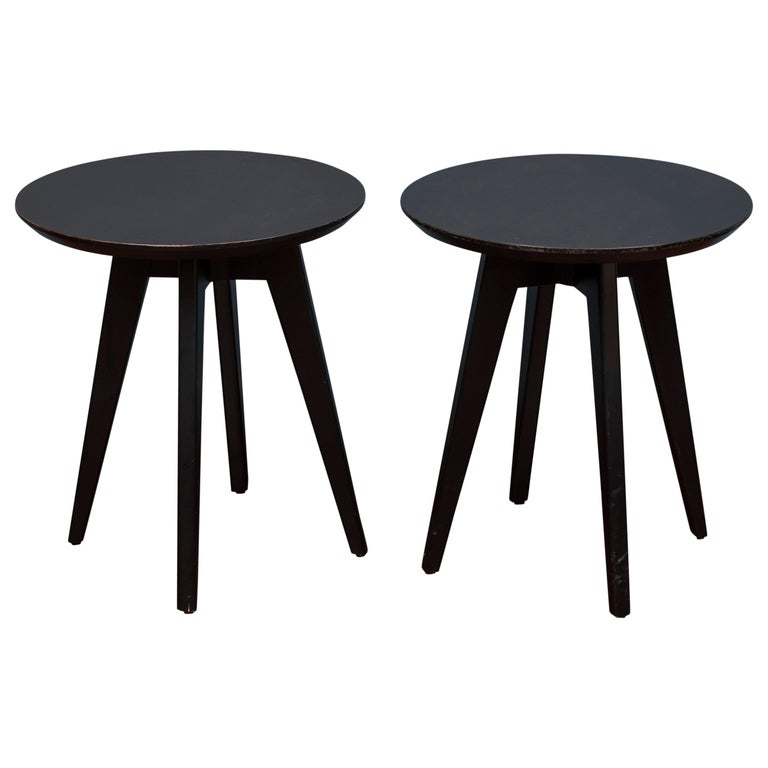Jens Risom Side Tables for Knoll For Sale