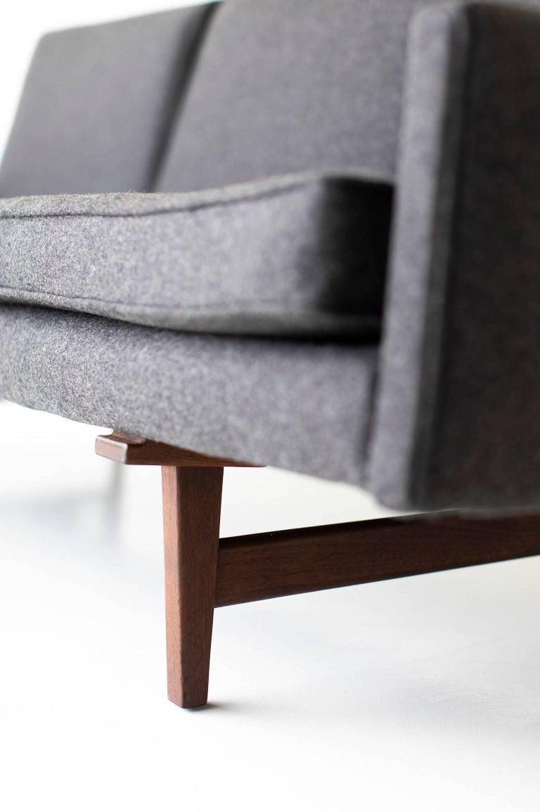 Mid-Century Modern Jens Risom Sofa for Risom Design Inc For Sale