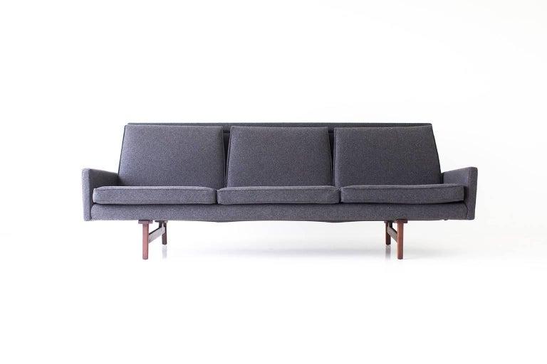 Mid-20th Century Jens Risom Sofa for Risom Design Inc For Sale