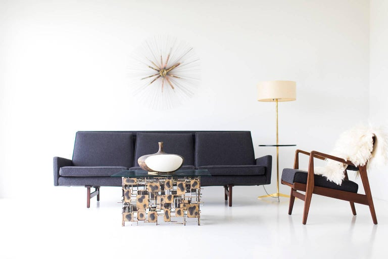 Jens Risom Sofa for Risom Design Inc For Sale 1