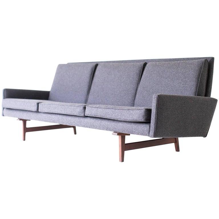 Jens Risom Sofa for Risom Design Inc For Sale