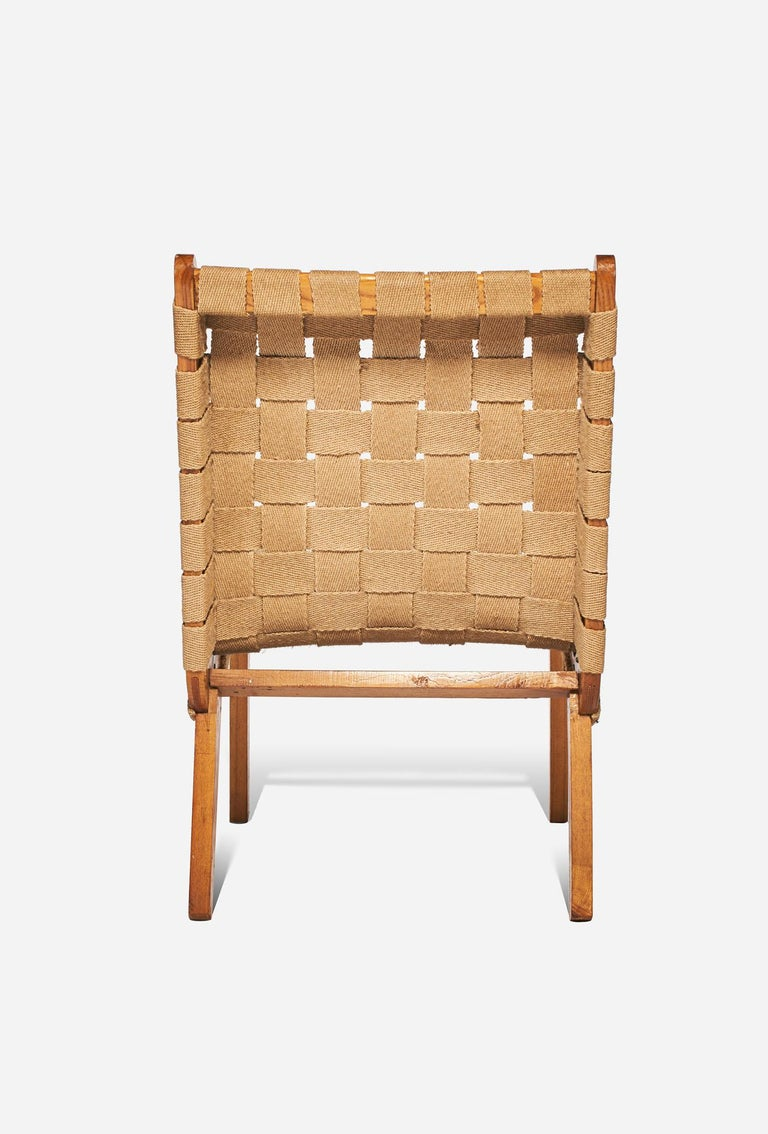Other Jens Risom Style Lounge Chair, 1960s For Sale