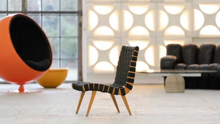 Jens Risom, Vostra Easy Lounge Chair, Design 1941 for Walter Knoll, Germany For Sale 4