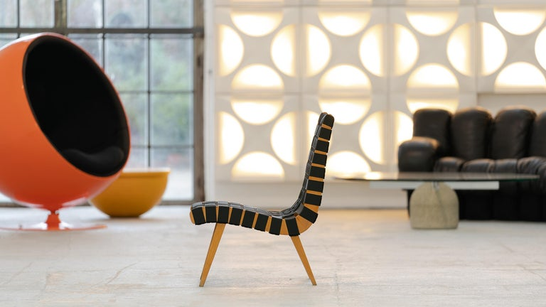 Jens Risom, Vostra Easy Lounge Chair, Design 1941 for Walter Knoll, Germany For Sale 5