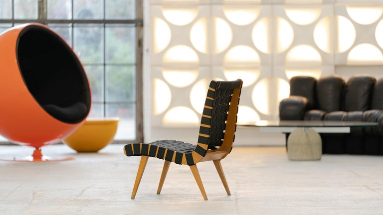 Jens Risom, Vostra Easy Lounge Chair, Design 1941 for Walter Knoll, Germany For Sale 6