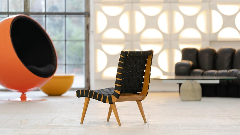 Jens Risom, Vostra Easy Lounge Chair, Design 1941 for Walter Knoll, Germany For Sale 7
