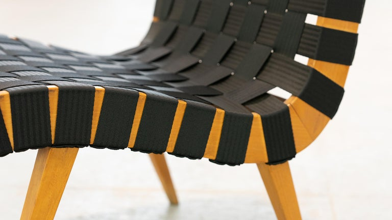 Jens Risom, Vostra Easy Lounge Chair, Design 1941 for Walter Knoll, Germany For Sale 9