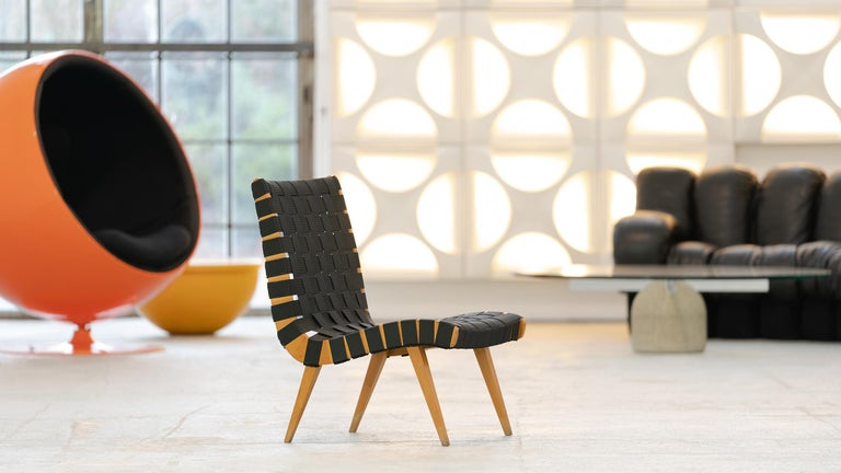 Mid-20th Century Jens Risom, Vostra Easy Lounge Chair, Design 1941 for Walter Knoll, Germany For Sale
