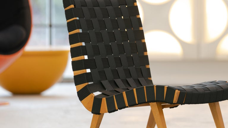 Jens Risom, Vostra Easy Lounge Chair, Design 1941 for Walter Knoll, Germany For Sale 1