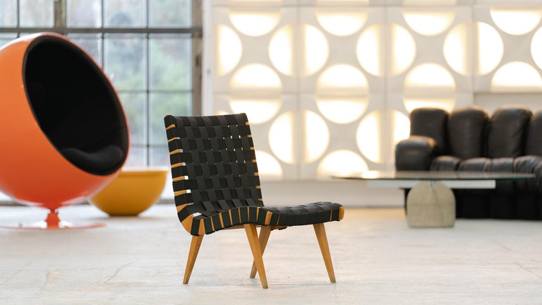 Jens Risom, Vostra Easy Lounge Chair, Design 1941 for Walter Knoll, Germany For Sale 2