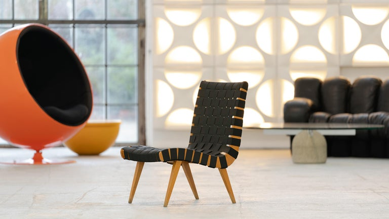 Jens Risom, Vostra Easy Lounge Chair, Design 1941 for Walter Knoll, Germany For Sale 3