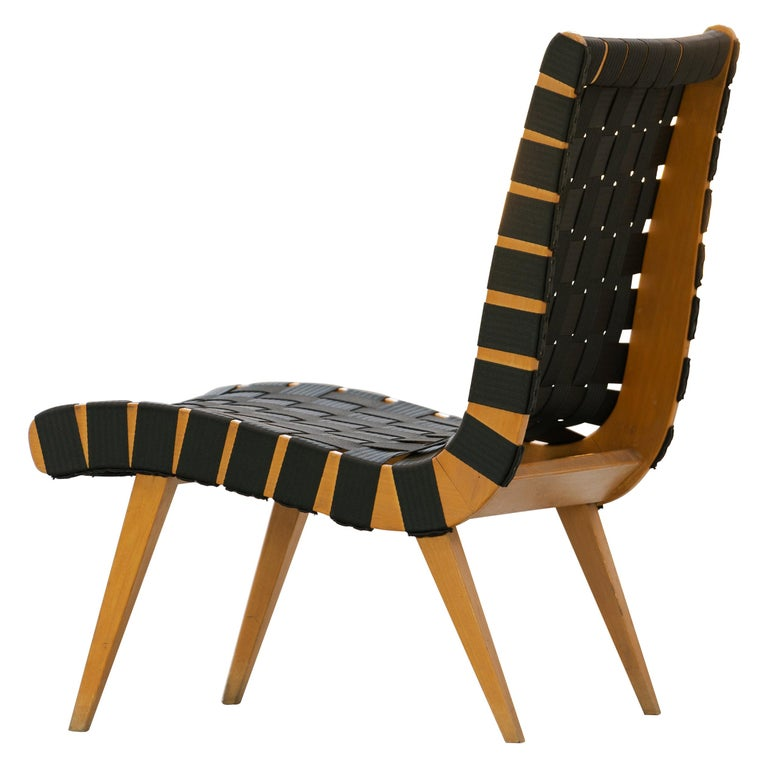 Jens Risom, Vostra Easy Lounge Chair, Design 1941 for Walter Knoll, Germany For Sale
