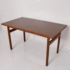Jens Risom Walnut Table Desk Mid Century Period