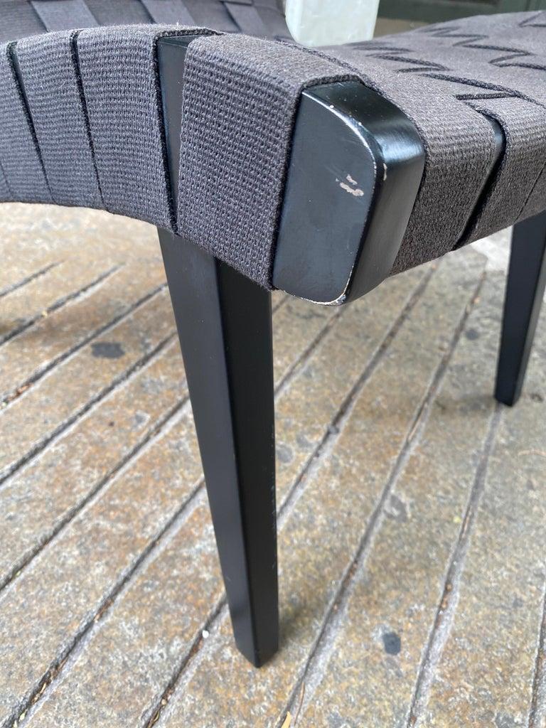 Jens Risom Webbed Lounge Chair For Sale 1