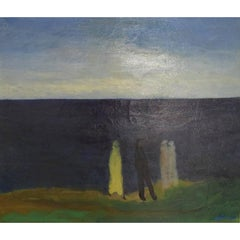 Jens Søndergaard, Important Danish Artist, Coastal Landscape
