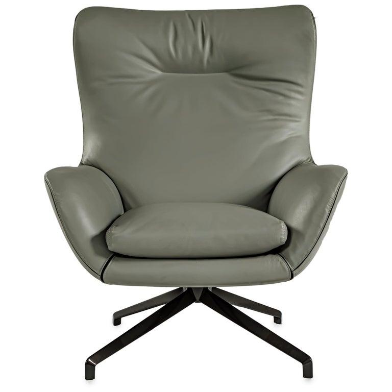 Jensen lounge chair by Rodolfo Dordoni for Minotti 2011 For Sale